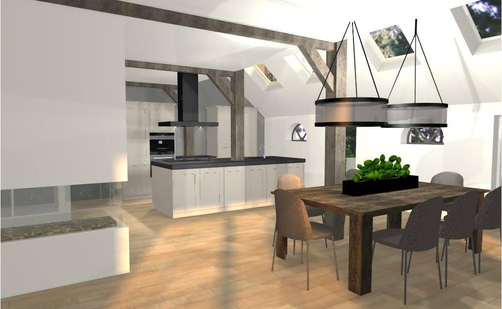 Indeling keuken voorbeelden praktische keuken indeling beste ideen voor interieurontwerp - Voorbeeld keuken in l ...