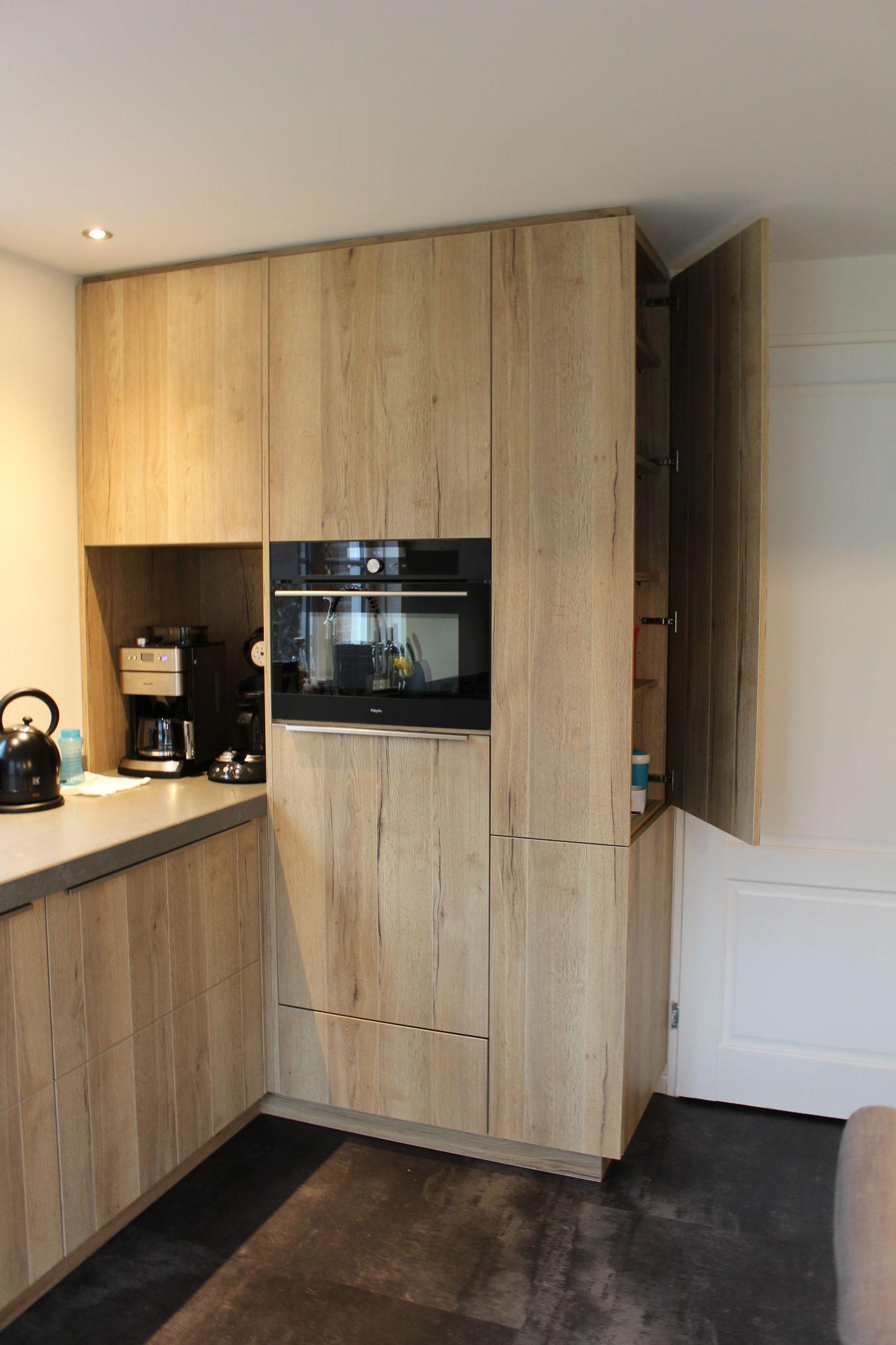 Bedwelming Hout met beton | Tolkamp Keukens #MZ55